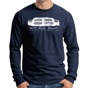 6.7 Turbo Diesel With 4th Gen Grille Long Sleeve T-Shirt
