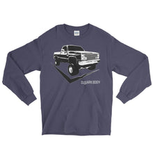 Square Body 80's Chevy Truck Long Sleeve T-Shirt