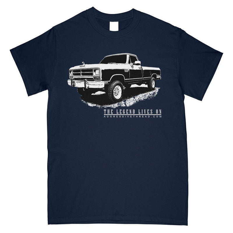 First Gen 1981-1993 Dodge Ram T-Shirt | Aggressive Thread Diesel Truck Apparel