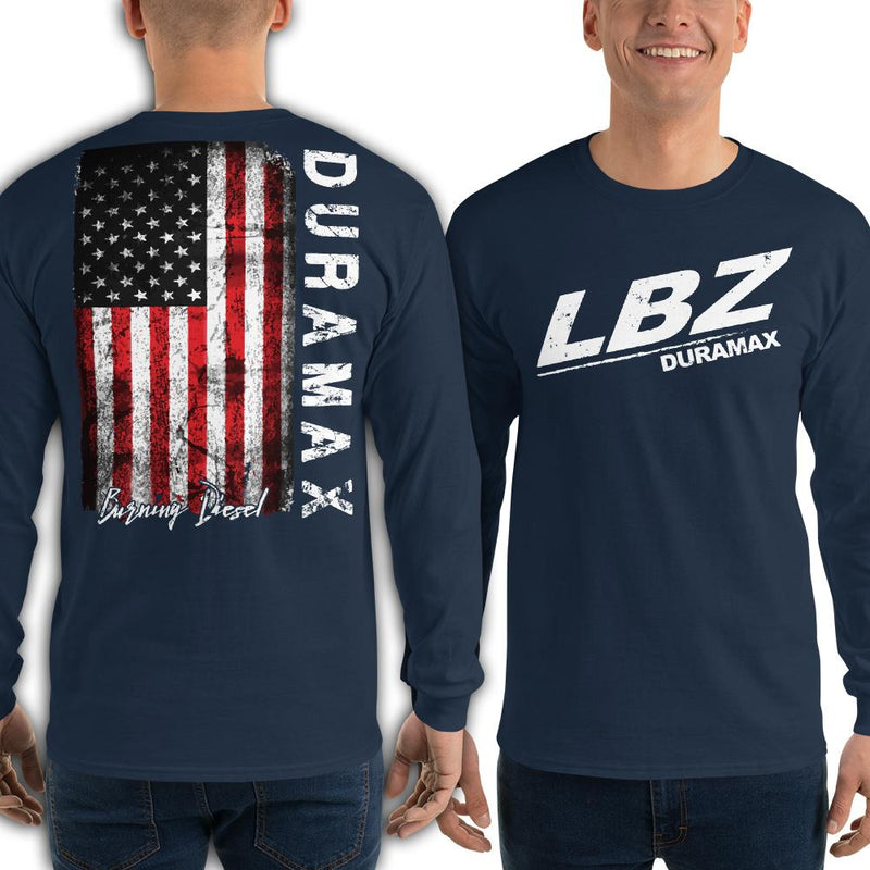 LBZ Duramax Burning Diesel Long Sleeve T-Shirt