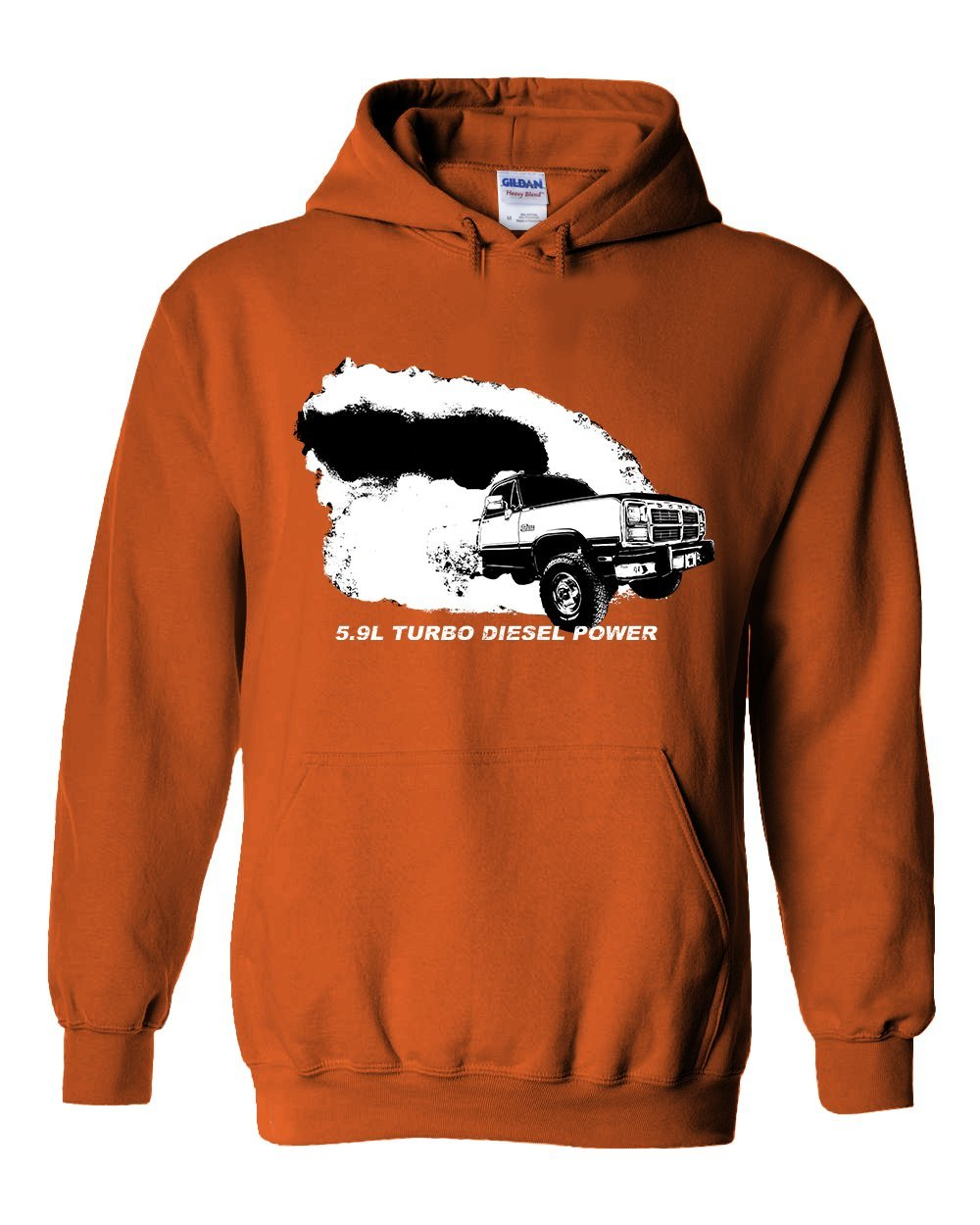 Cummins 12 or 24 Valve 5.9l Diesel powered 2nd gen Dodge Ram T-shirt from Aggressive Thread Truck Apparel