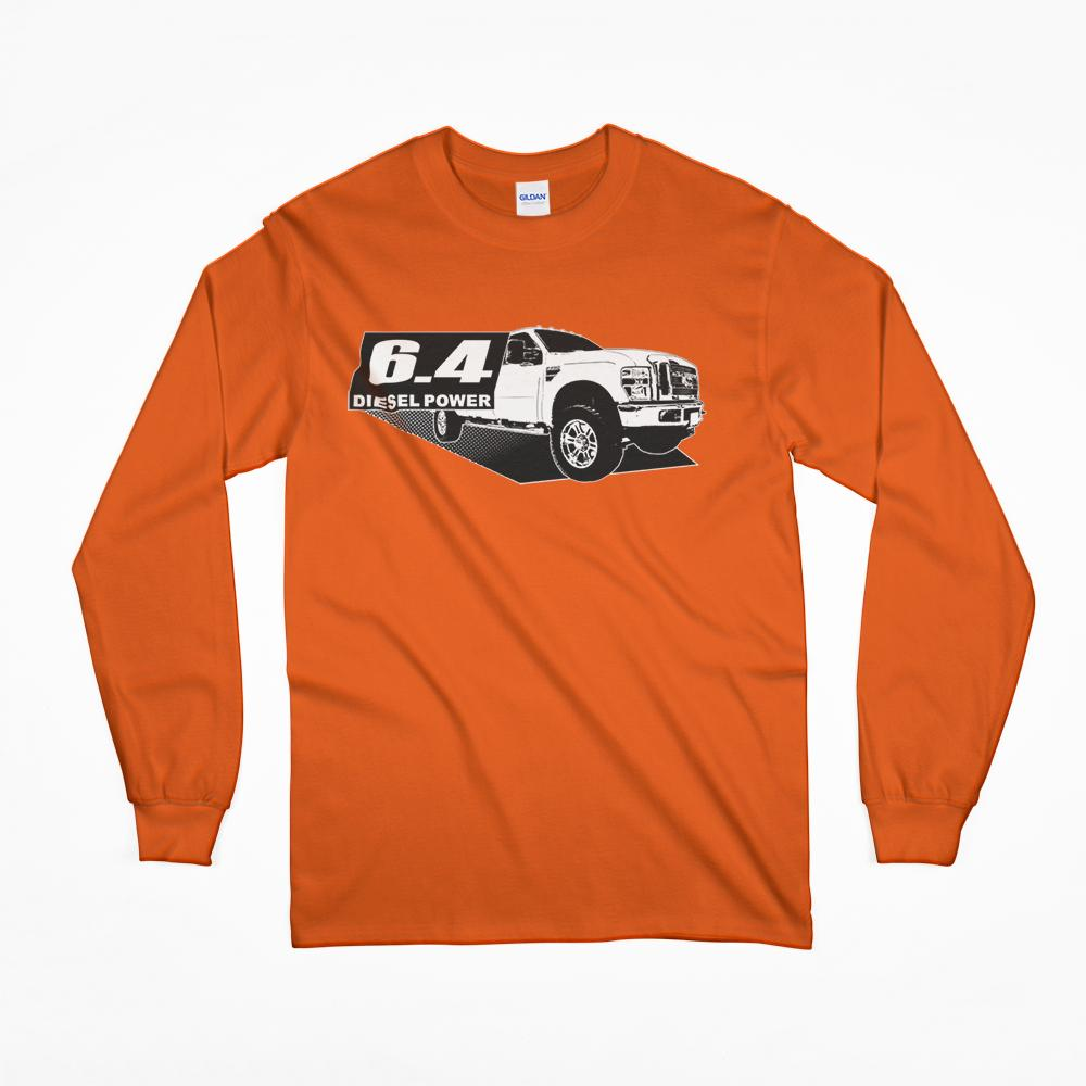 Power Stroke 6.4 Diesel Power Long Sleeve T-Shirt