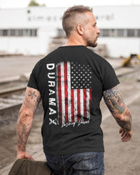 Duramax Diesel Distressed American Flag T-Shirt