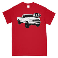OBS Super Duty Single Cab T-Shirt - Aggressive Thread Diesel Truck T-Shirts
