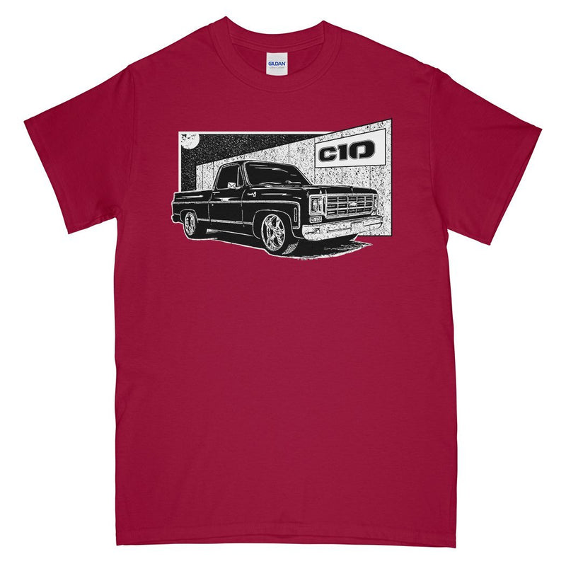 Square Body Chevy T-Shirt | Squarebody Shirt | Aggressive Thread Diesel Truck Apparel