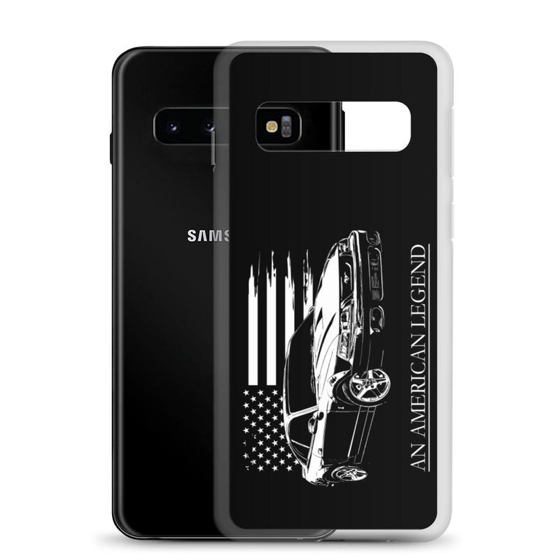 Mustang Cobra American Flag Protective Samsung Phone Case