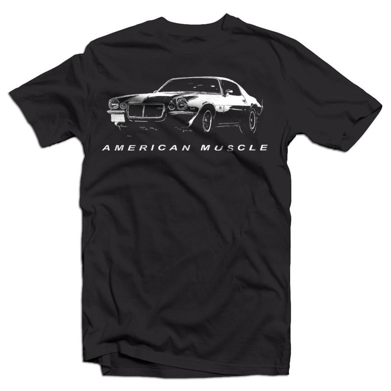 1970-1973 Split Bumper Camaro T-Shirt | Aggressive Thread Muscle Car Apparel