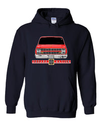 Squarebody Hoodie | Square Body Sweatshirt | Aggressive Thread Diesel Truck Apparel