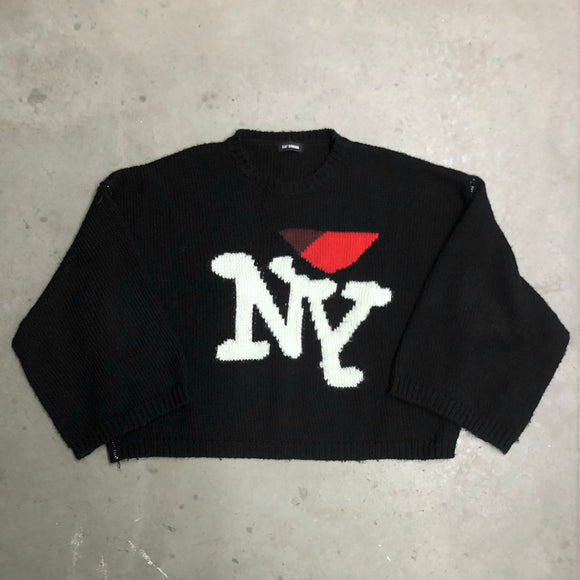Raf Simons I Heart NY Sweater