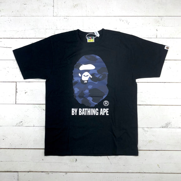 Bape Blue Camo Head Tee