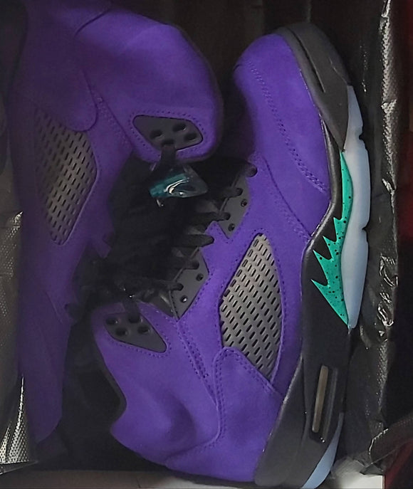 Jordan 5 Alternate Grapes