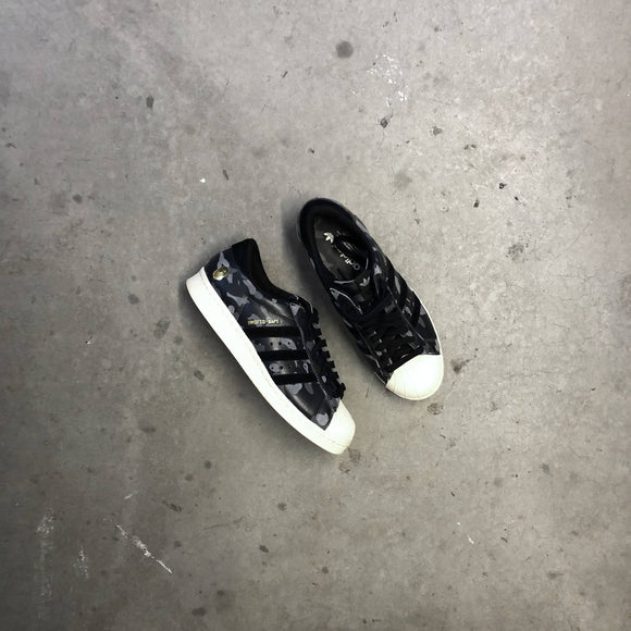 Adidas x Bape x UNDFTD Superstars