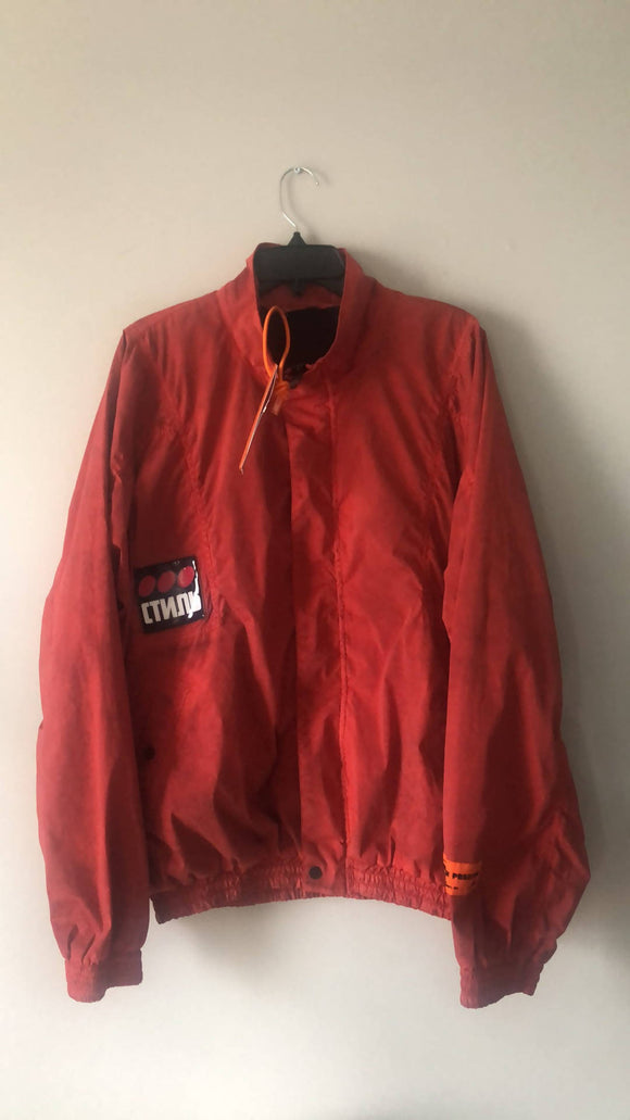 Heron Preston Washed Windbreaker