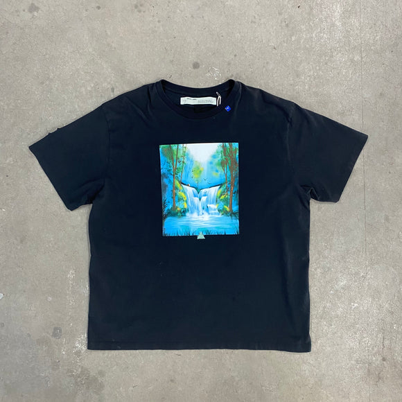 Off White Waterfall Tee