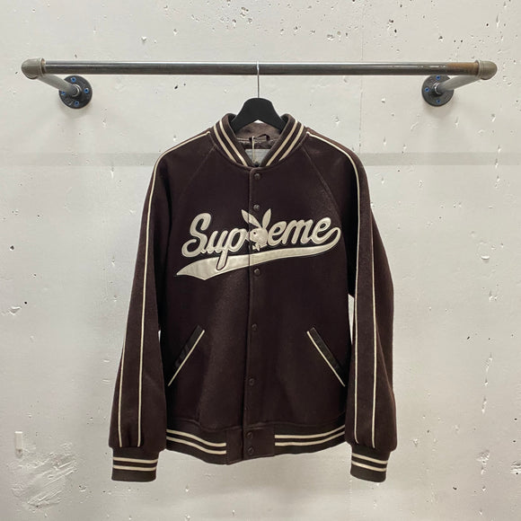 Supreme Playboy Varsity Jacket