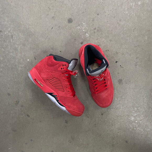 Air Jordan 5 Suede Red