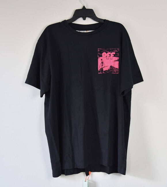 Off - White skeleton Tee