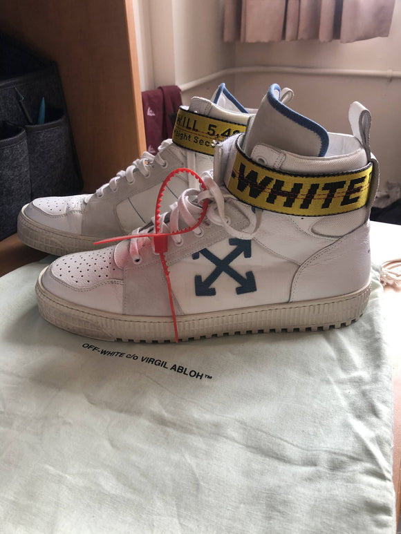 OFF-WHITE HIGH TOP