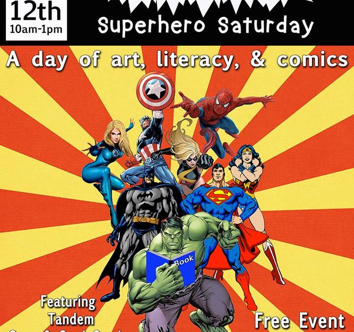 MOCHA's Superhero Saturday on 12/12