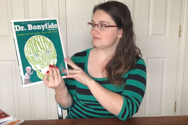 Timberdoodle Review- Dr. Bonyfide Presents Bones Book Set