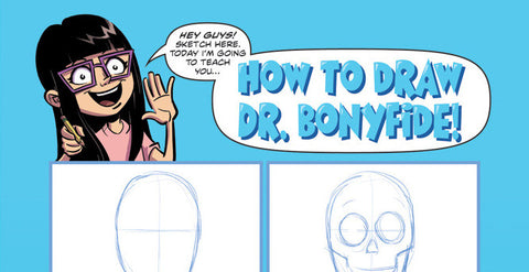 How to Draw Dr. Bonyfide
