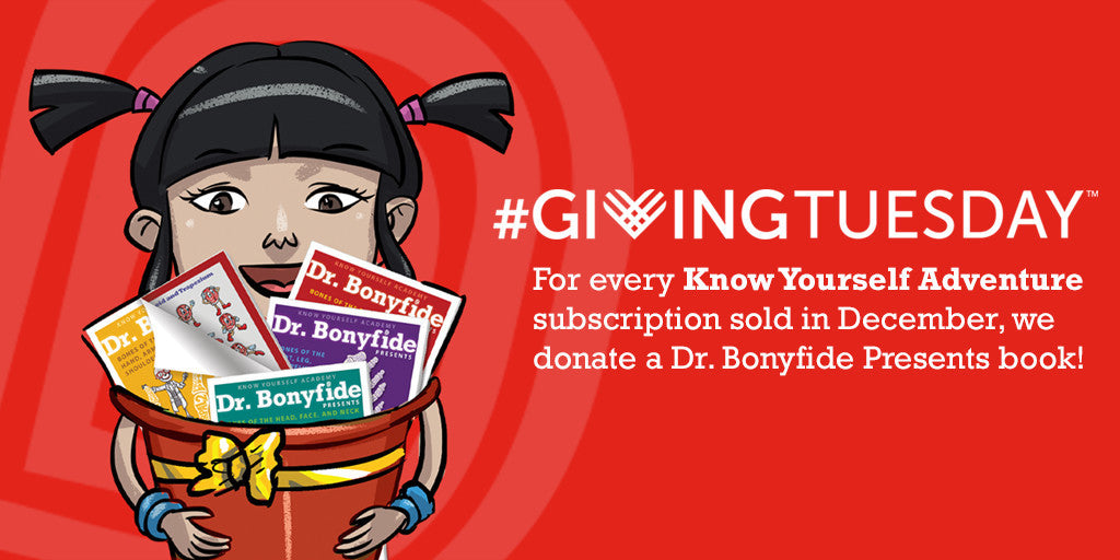 Starting the Season of Giving with #givingtuesday