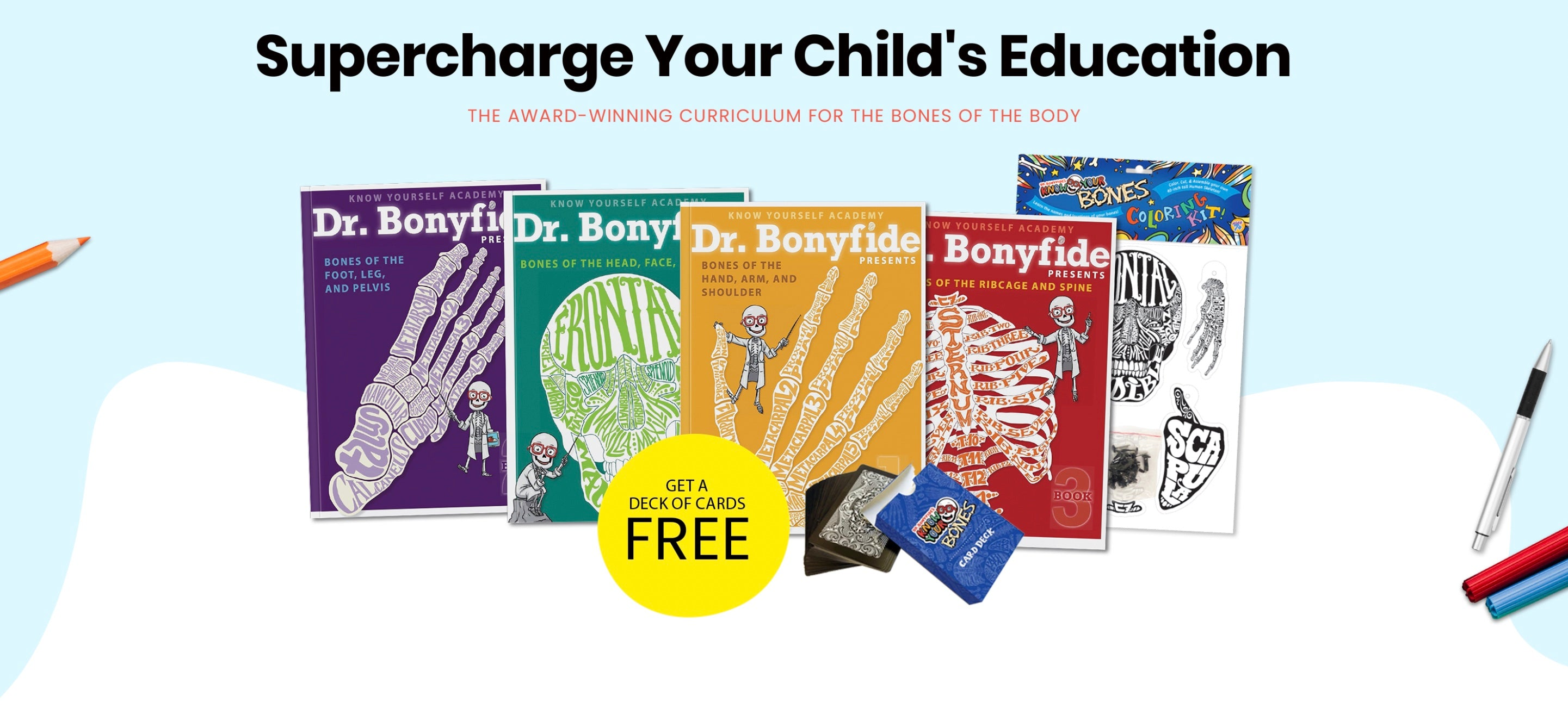 Curriculum for the Bones of the Body Bundle
