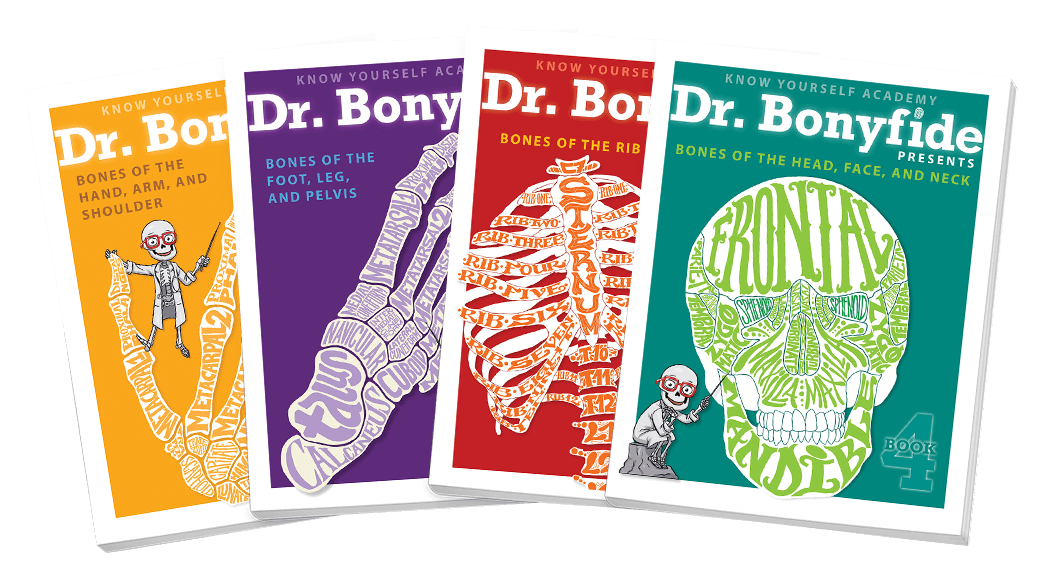 Meet Dr. Bonyfide Workbooks