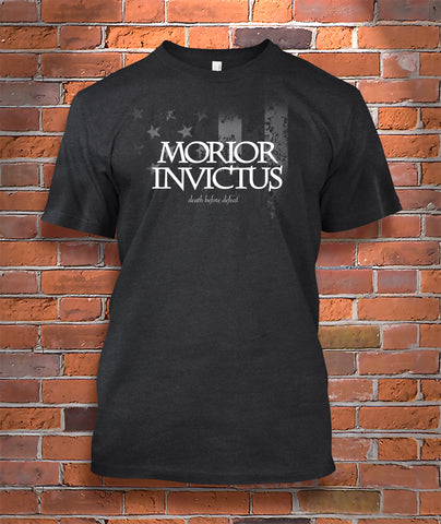 Morior Invictus (death before defeat)