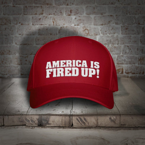 HAT: TRUMP: America Is Fired Up!