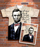 Abe Lincoln: I liked black people before it was cool!