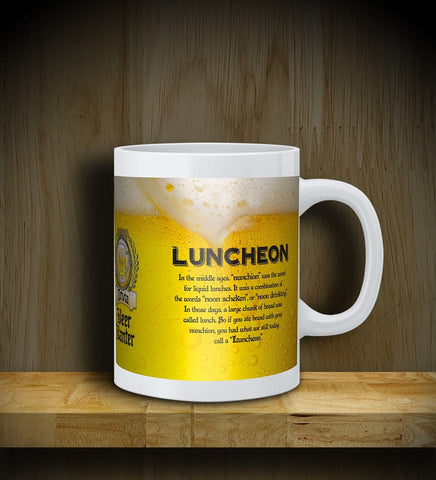 MUG: Beer Banter: Luncheon