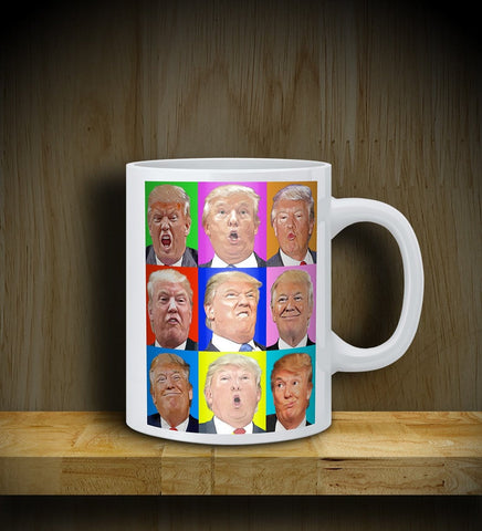 MUG: TRUMP: Faces