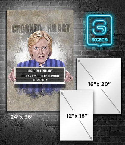 POSTER: HILLARY: Crooked