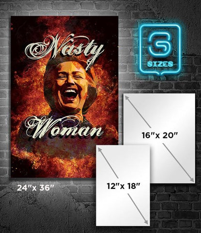POSTER: HILLARY: Nasty Woman 2
