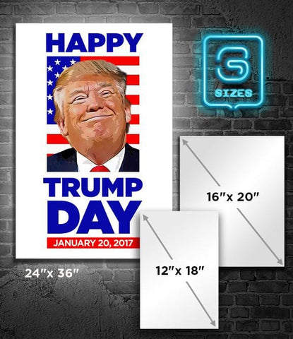 POSTER: Happy TRUMP Day