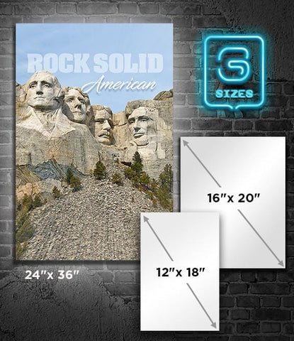 POSTER: Rock Solid American