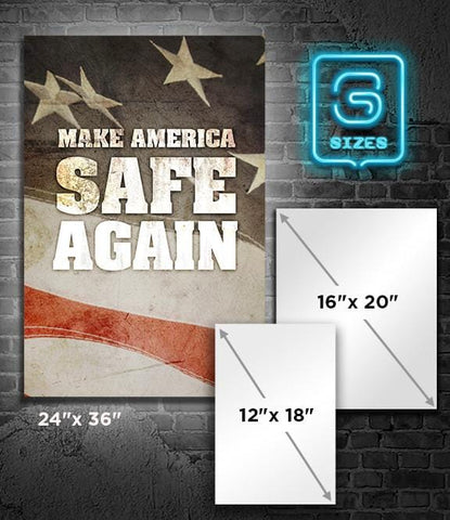 POSTER: Make America SAFE Again