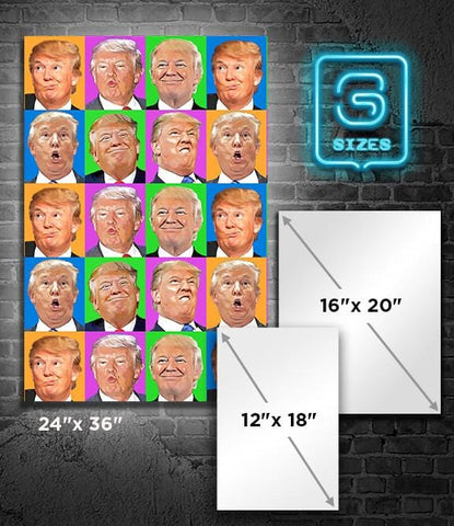 POSTER: TRUMP: Faces