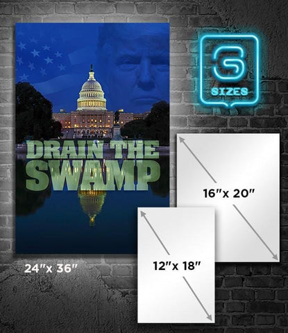 POSTER: Drain the Swamp - Vertical