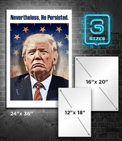 POSTER: TRUMP: He Persisted
