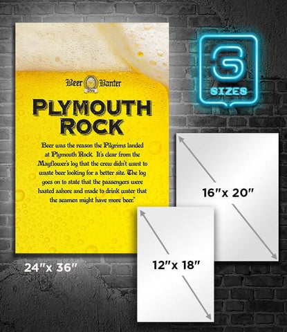 POSTER: Beer Banter: Plymouth Rock