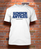 Semper Anticus (always forward)