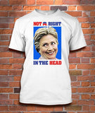 HILLARY: Not RIGHT in the head