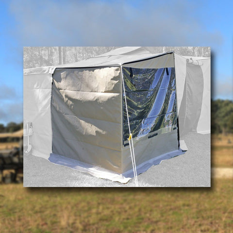 Kwik Awning Front L Wall Clear (KAG228)
