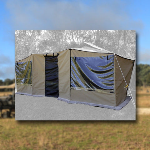 Kwik Awning Walls Complete Kit (Ext Tent) (KAG230)