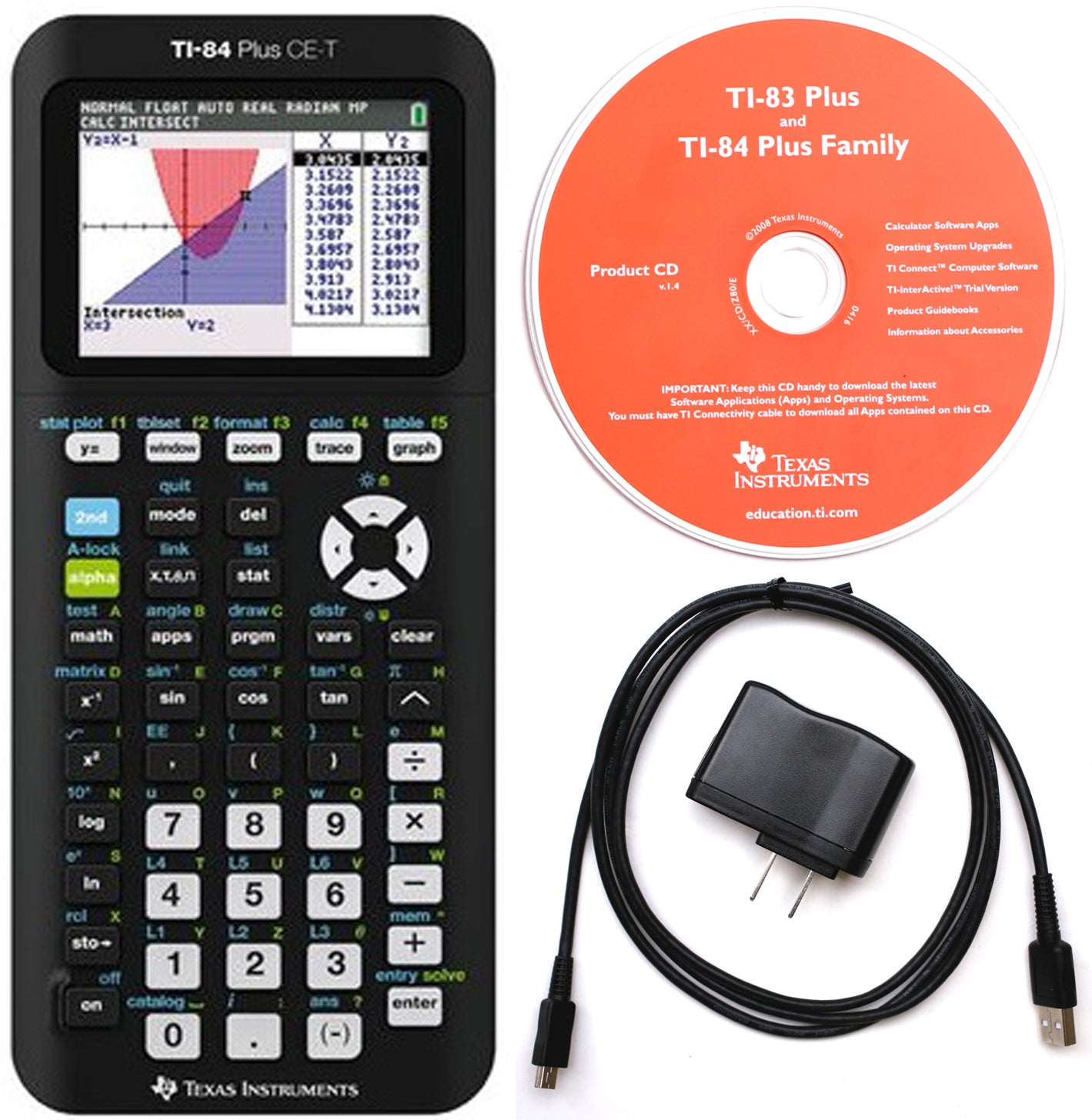 Texas Instruments TI-84 Plus CE Graphing Calculator, Refurbished –  1800Calculators.com