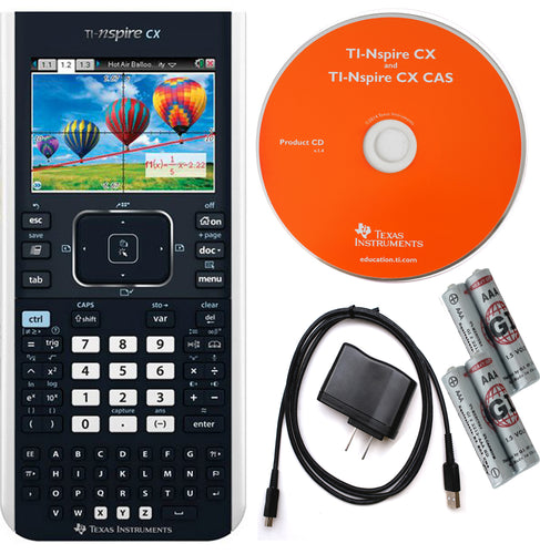 Texas Instrument TI-Nspire CX Graphing Calculator, Refurbished