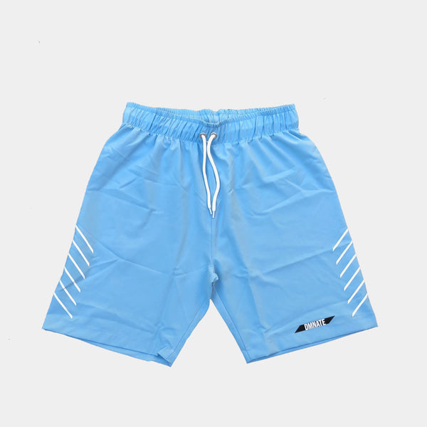 Spend summer days by the water with this comfortable and sleek swim short design.