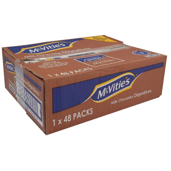 McVities Chocolate Digestive Biscuits Twin Pack